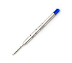 パーカー 油性ボールペン用 替芯 ブルー M 中字 クィンクフロー クインクフロー 替え芯 リフィール リフィル 純正 PARKER 消耗品