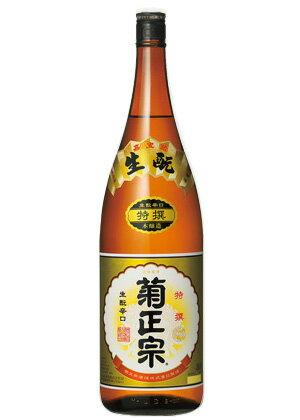 「菊正宗 特撰1.8L瓶詰」