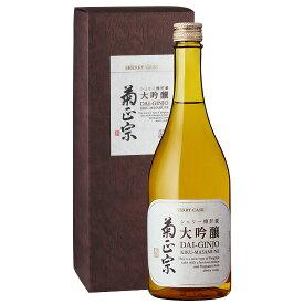 ひと味違う貴重な和洋折衷の樽酒「菊正宗 シェリー樽貯蔵 大吟醸 720ml」