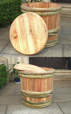 使い方はいろいろ!?貴重な酒樽を再利用「吉野杉の酒樽(一空樽)」
