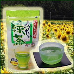 日本茶 お茶 緑茶 煎茶菊之園【水出し煎茶】【冷たい緑茶ティーパック】5g×15P入【RCP】