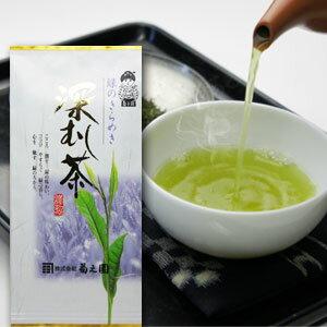 海外販売専用商品日本茶 深むし茶 菊之園 お茶 【深むし茶】100g袋入 メール便対応可能【楽天BOX受取対象商品】【コンビニ受取対応商品】 【RCP】日本国内へは消費税を加算いたします。