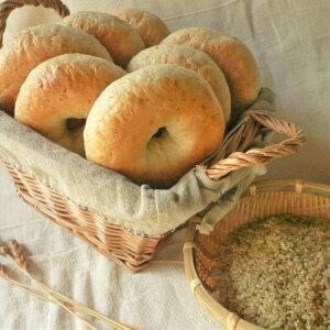 【いわて 玄米ごはん ベーグル 7個セットベーグル 手作り 玄米 パン セット