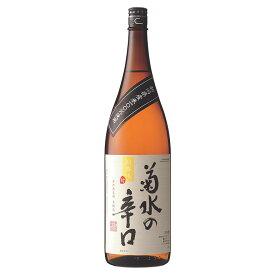 日本酒 [ 菊水の辛口 1800ml]