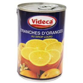 バレンシアオレンジスライス缶 4号缶 / 製菓材料、製パン材料、フルーツ缶