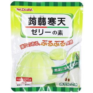 蒟蒻寒天ゼリー 青りんご味 125g