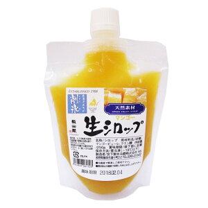 東山道 生シロップ マンゴー 250g / かき氷 シロップ