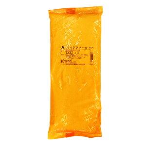 [クール便]オーム乳業 ミルククリーム 1kg / 製菓材料 パン材料 クリームパン フィリング ペースト シュー ブッセ