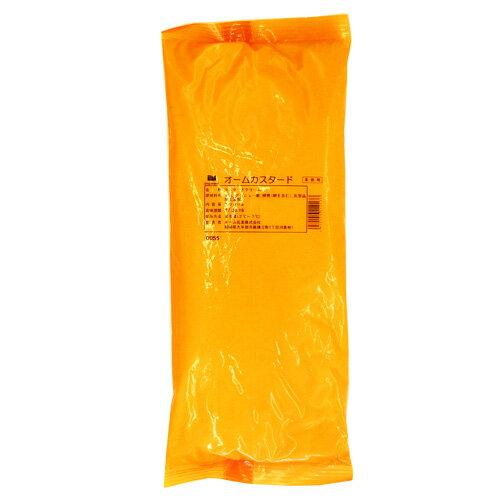 オーム乳業 カスタードクリーム 1kg / 製菓材料 パン材料 クリームパン フィリング ペースト シュー ブッセ