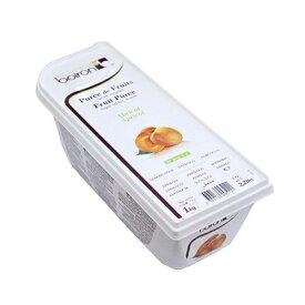 【ボワロン】冷凍アプリコットピューレ 1kg / 製菓材料、パン材料、フルーツピューレ
