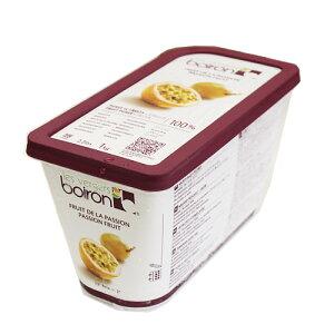 [クール便]【ボワロン】冷凍パッションピューレ 1kg / 製菓材料、パン材料、フルーツピューレ