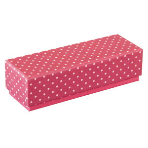 ピンクドットショコラBOX 1箱 / バレンタイン ラッピング トリュフ ボンボンショコラ チョコレート