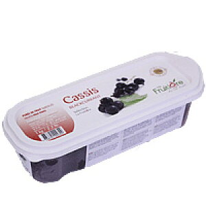 [クール便]フルティエール 冷凍カシスピューレ 1kg / 製菓材料、パン材料、フルーツピューレ