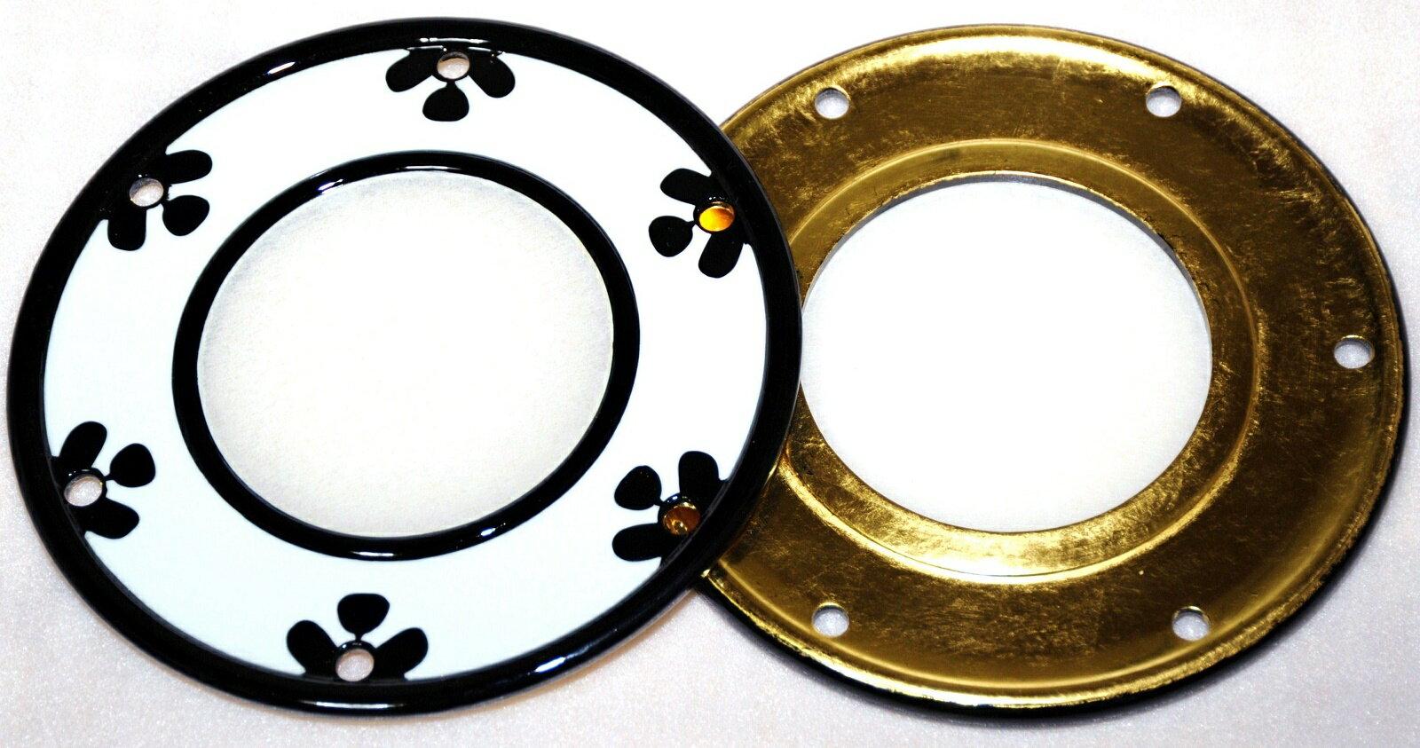 小鼓皮 屋外でも使用しやすい合成皮製 本金箔(3号金箔)仕上げ。皮のみで、胴、調べ緒は別です。