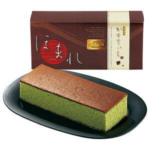 [47%OFF] 和菓匠菴 「ほまれ」和三盆糖入かすてぃら【抹茶】 NHMR-AJM (カステラ) [のし 包装 カード 無料]