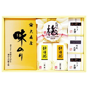 [47%OFF] 香味彩々 NK-35F (梅干し 日本茶 海苔 のり 詰め合わせ セット) [のし 包装 カード 無料]