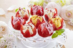【 お歳暮 送料無料 メーカー直送 】 花いちごの ( 博多あまおう ) バラエティアイス A-DR < 計 11個 > [ スイーツ ストロベリー アイスクリーム ギフト ] 美味しい 人気 おすすめ ギフト [ 20