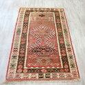 トルコの手織りキリム・アダナ165×100cmセッヂャーデヌズムラデザイン変形ミフラープ