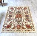 トルコ絨毯・スザンニのアンティークデザイン211×155cmウール100%手織り/工芸品カーペット