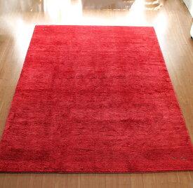 ギャッベ ギャベ イラン製カシュカイ族の手織りラグ・Banafsheh/バナフシェ・大型ルームサイズ316x247cm レッド・ボーダー スクエアデザイン 幾何学モチーフ