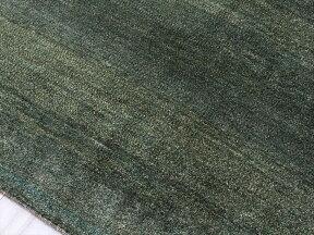 ギャッベイラン直輸入ノマド大型ルームサイズ285x203cmグリーン小さな動物のモチーフ