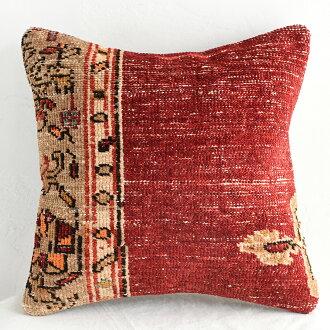 復古·雷達測高表碎布靠墊覆蓋物40cm尺寸土耳其地毯、toraibaruragu