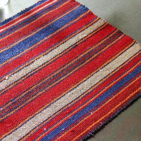 【レターパック利用可】イランの古いテント布・ガジャリキリム・ミニサイズ/30×39cm