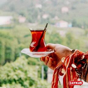 チャイ(紅茶)ブラックティー・ストレート500gボリュームパック/トルコCAYKURチャイクル社黒海沿岸リゼ産