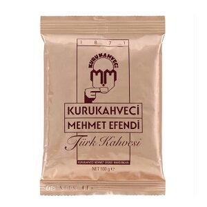 トルココーヒー100gパック・メフメットエフェンディ社【輸入食品】 Mehmet Efendi Turk Kahvesi /トルコのお土産【レターパック可】