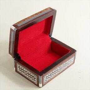 MotherofPearlエジプト螺鈿のジュエリーボックス・長方形Smallsize10.5x6x3【10P23Sep15】