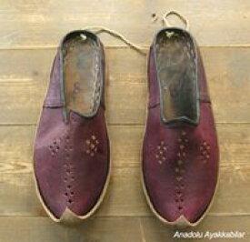 アナトリアン・フォークシューズ〜19世紀の製法で作ったオリジナルの革靴・サイズ38
