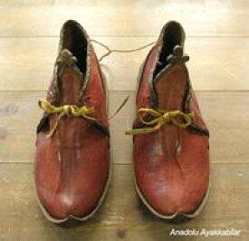 アナトリアン・フォークシューズ〜19世紀の製法で作ったオリジナルの革靴・サイズ35