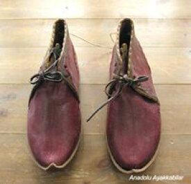 アナトリアン・フォークシューズ〜19世紀の製法で作ったオリジナルの革靴・サイズ39