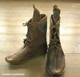 アナトリアン・フォークシューズ〜19世紀の製法で作ったオリジナルの革靴・サイズ44