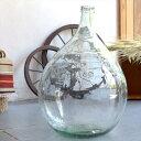 ガラスボトル テラリウムボトル フラワーベース 高さ66cm 直径46cm
