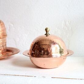 """銅製ロクム入れ/ブロンズトルコのお菓子""""ロクム""""を入れる小さな食器・お土産にも!"""