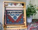 オーダーメイド・お名前入れます!絨毯織り機のミニチュア・ウェルカムカーペット【クーポン対象外品】
