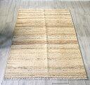 シラーズ・手織りキリム/カシュカイ族キリム155×95cm染めていない羊毛のナチュラルカラー