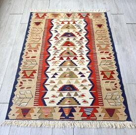 トルコ手織りキリム ウシャク・セッヂャーデ167×113cm8つの小さなミフラープ