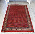 ペルシャ絨毯部族絨毯サルークセンターラグ159×104cmボテ(ペイズリー)モチーフ