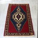 トルコ手織り絨毯・コンヤタシュプナルヤストゥク96×51cmブルー&レッド