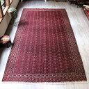 オールドキリム・西トルクメンヤムート大型ケッレサイズ赤いジジム織り