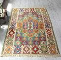 色にこだわる〜ワンランク上のカイセリ産手織りキリムセッヂャーデコンヤ地方の伝統柄・ユルドゥズ