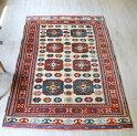 トルコ絨毯・ベルガマ(アイワルク)セッヂャーデ179×123cm8つの八角形モチーフ