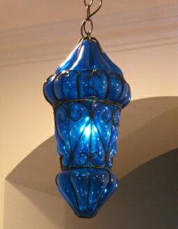 Galatabazaar rakuten global market egyptian glass and iron egyptian glass and iron pendant light lamp mediterranean style morocco lamp m size blue mozeypictures Image collections