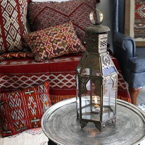ブラス製ランタン(キャンドルホルダー)アラブ風モロッコランプ・ihex06店舗照明・エスニック・BOHO・輸入照明【P12Jul15】
