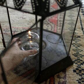 ブラス製ランタン(キャンドルホルダー)アラブ風モロッコランプ・ihex02【10P13Jun14】