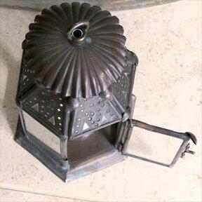 ブラス製ランタン(キャンドルホルダー)アラブ風モロッコランプ・ihex04