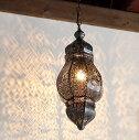 モロッコランプ・ランタン花の透かし模様MoroccoLamp,25W1灯ペンダントランプ1灯