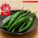 青唐辛子【80g】【冷蔵】